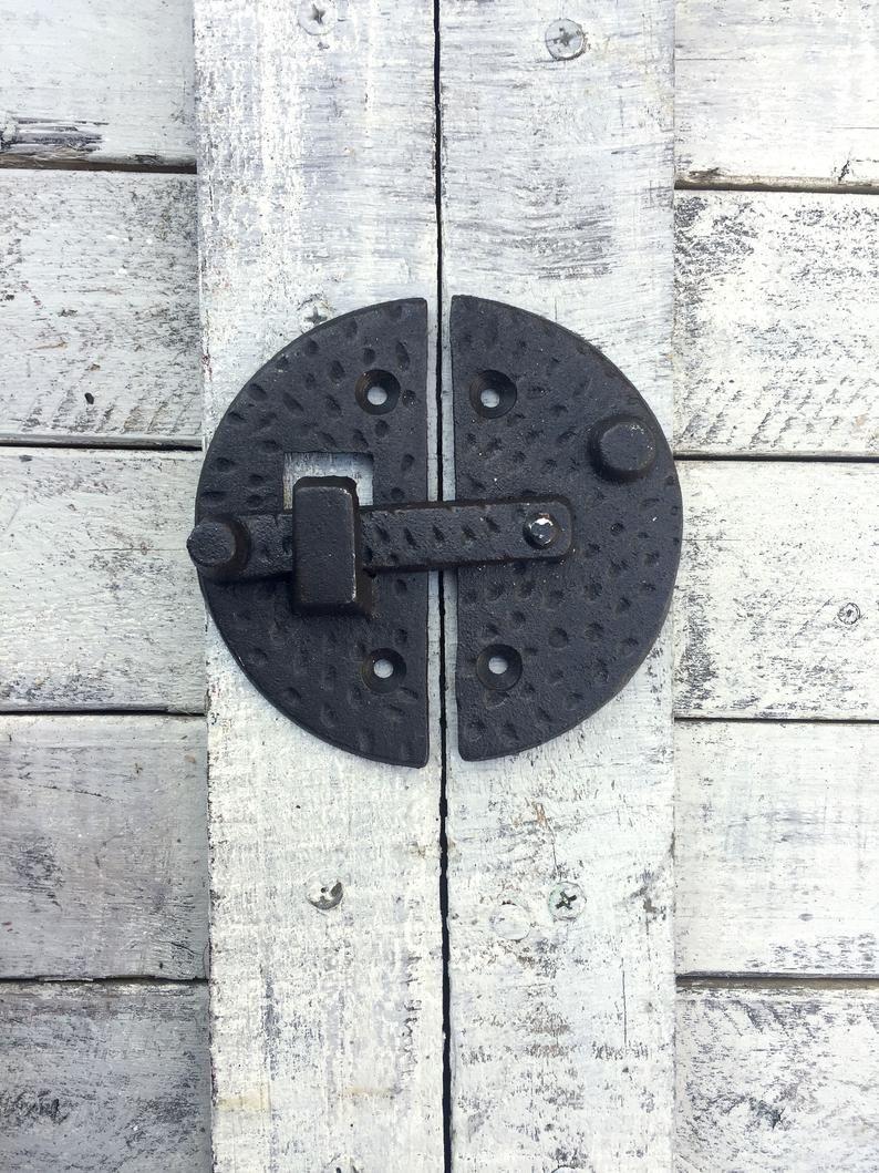 Iron Door Latch Gate Latch Metal Gate Lock Door Lock Garden