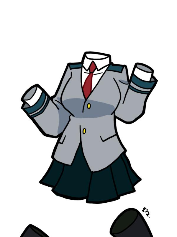 My Hero Academia Toru Hagakure 01 By Theeyzmaster Boku