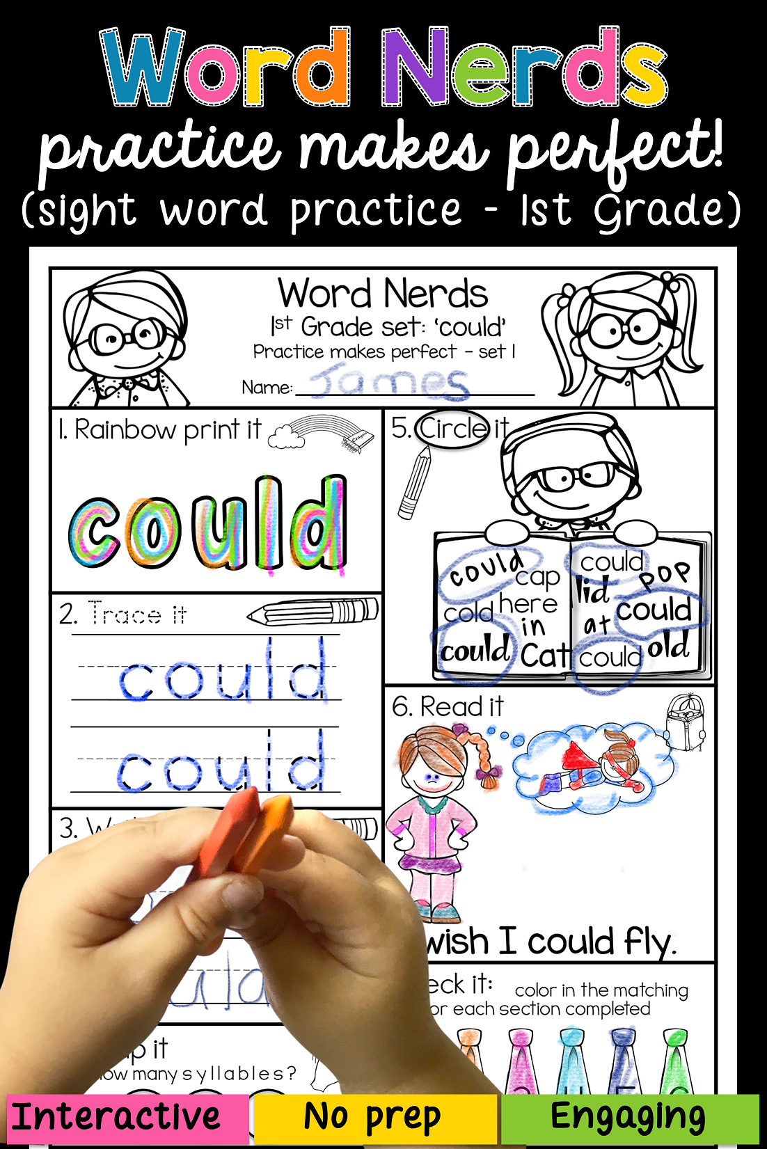 Sight Words 1st Grade With Images