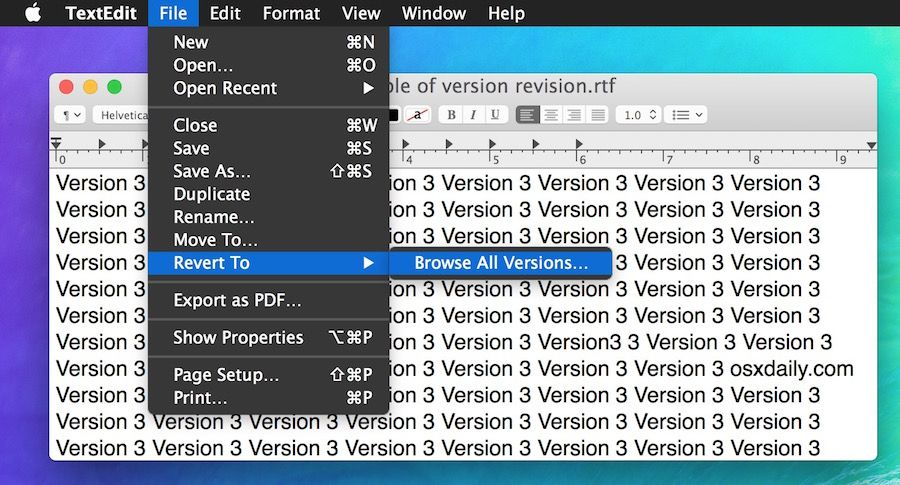 Mac Os Old Version