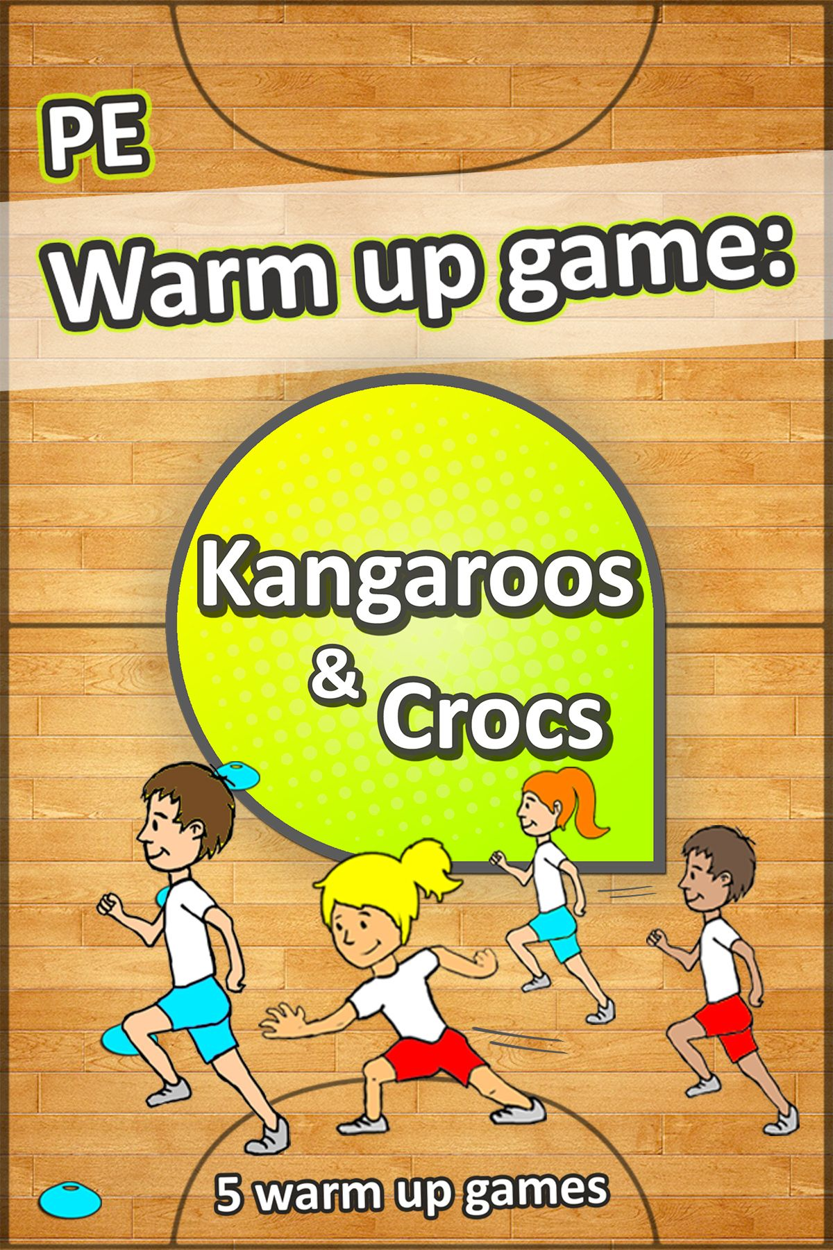 This Quick Reacting Sprinting Warm Up Game Is Great For Any Pe Lesson