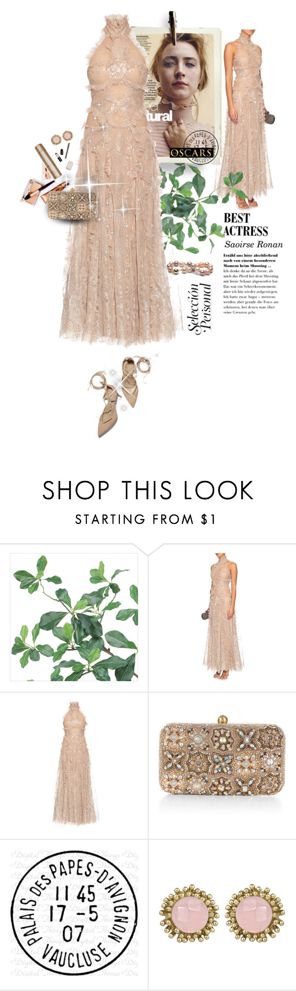 """""""Oscar"""" by sibanesly ❤ liked on Polyvore featuring мода, Alexander McQueen, DuÅ¡an, Charlotte Tilbury, Accessorize, Avignon, Kendra Scott и oscarfashion"""