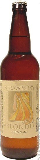 Nv Belmont Brewing Co Strawberry Blonde Beer California Usa