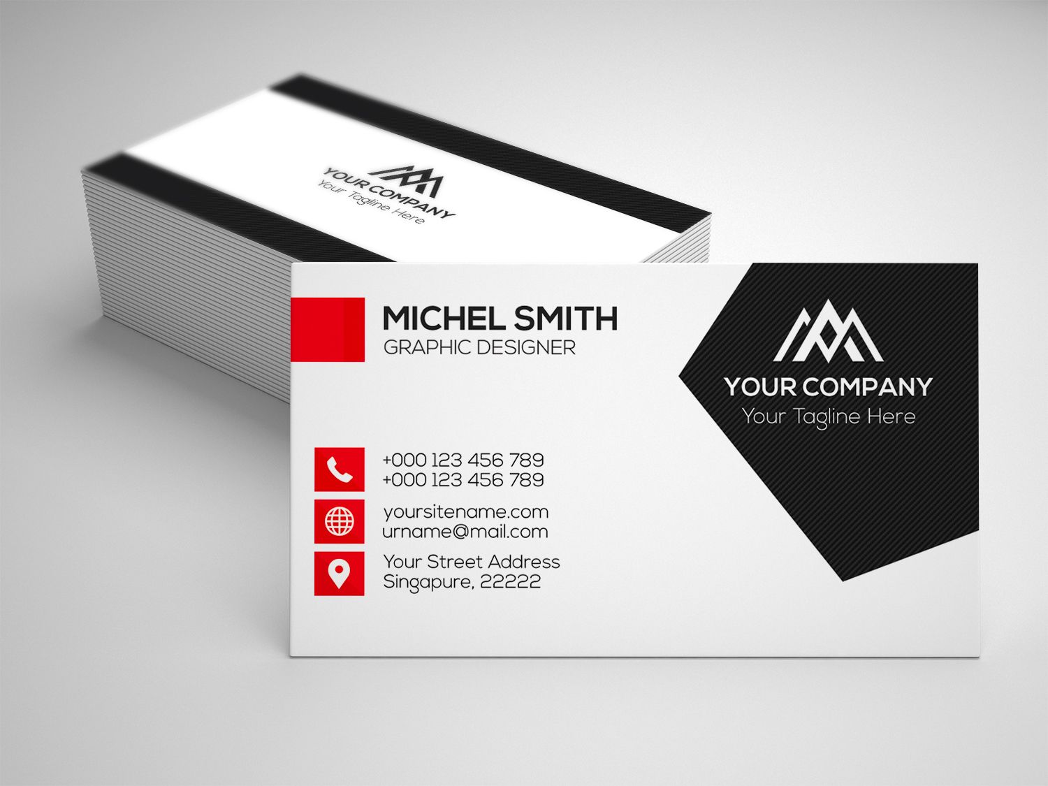 Pin By Marie Jahan On Business Cards Corporate Business Card Business Card Design Printable Business Cards