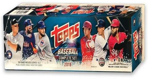 Mlb 2018 Topps Mlb Baseball Completed Trading Card Game Set