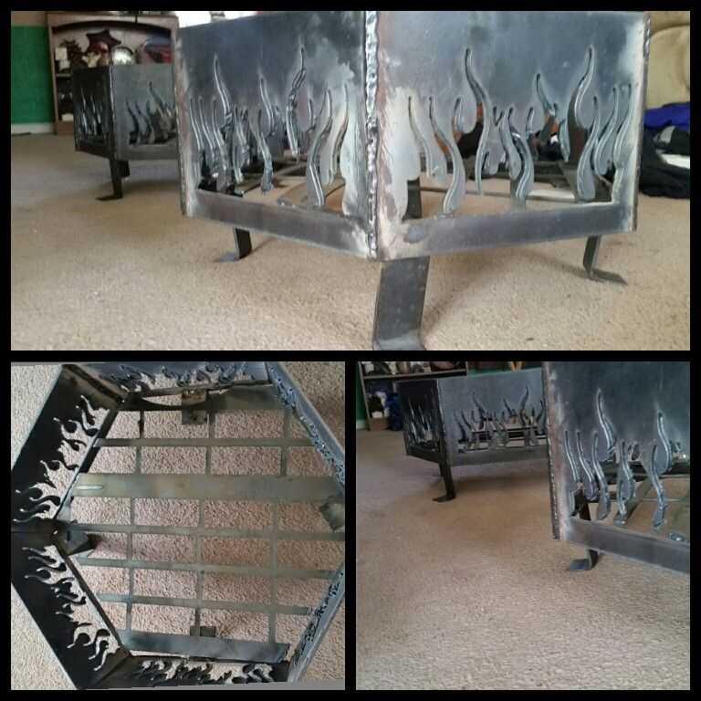 Fire Pits I Made In Welding Class