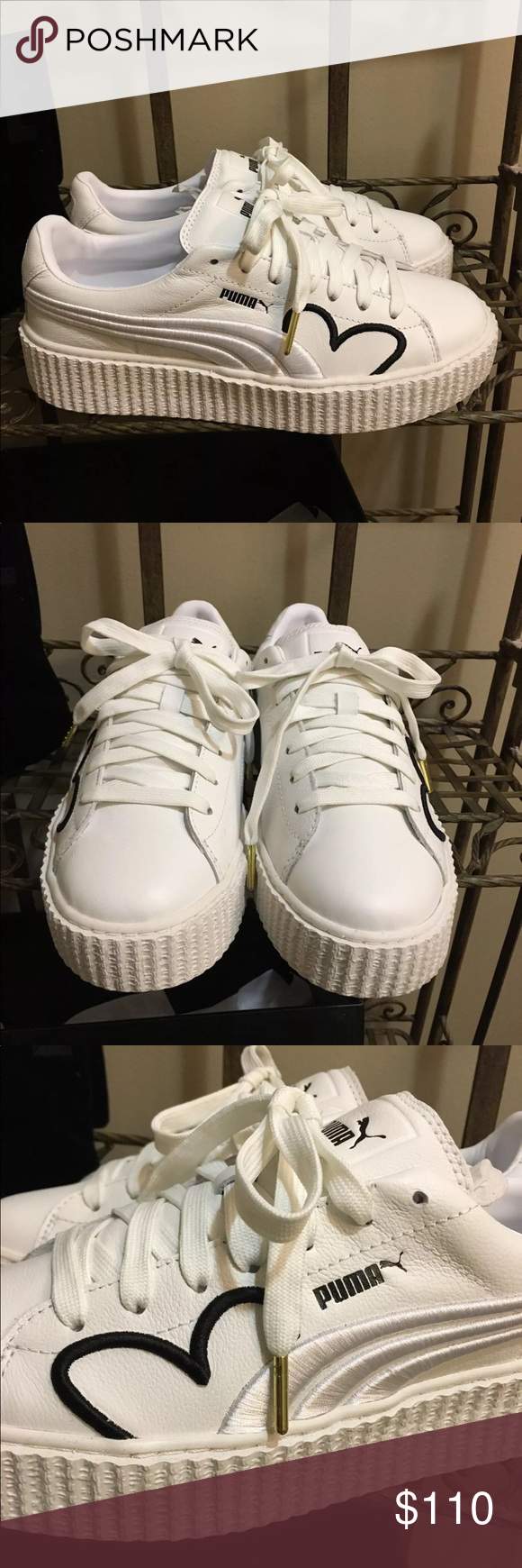 best sneakers ea5ee 55313 Puma Fenty Clara Lionel Creepers Brand new in box. Size 9.5 ...