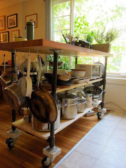 Extra storage in the kitchen