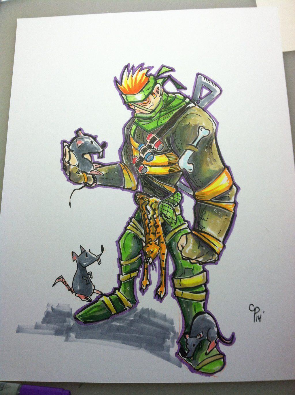 rat king ninja turtles