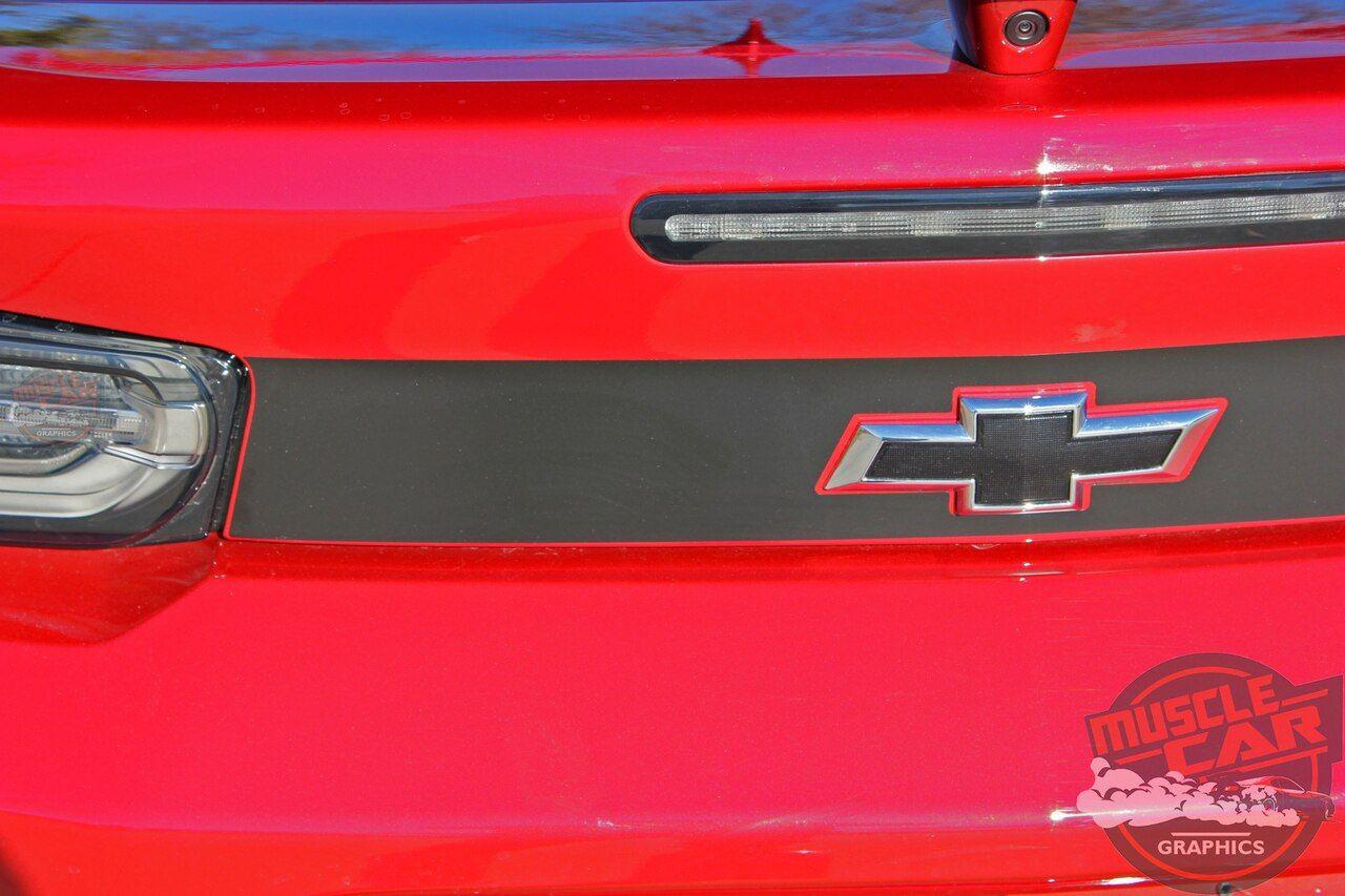 2019 Camaro Rear Decals Cam Trunk Blackout 2019 2020 2019 Camaro Camaro Mustang Stripes