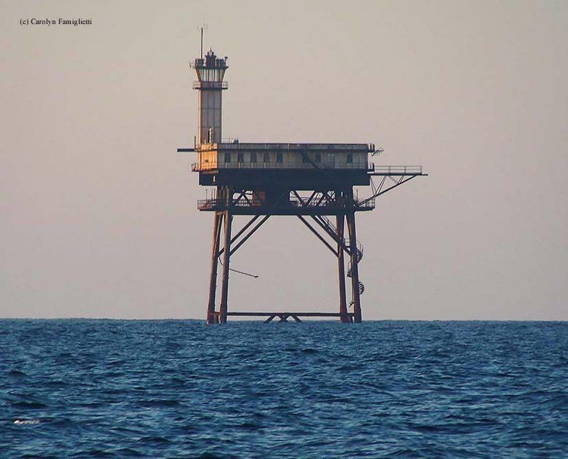 lighthouses in north carolina | diamond shoals lighthouse buxton north carolina 1967 1824
