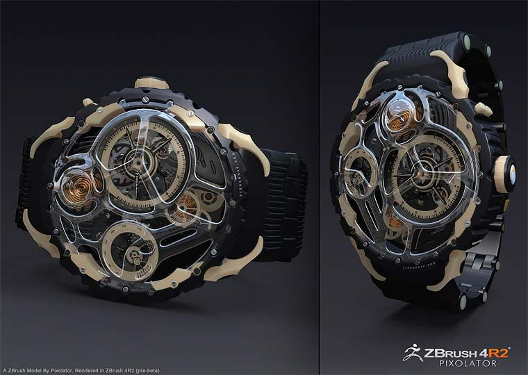 Pixologic ZBrush Gallery: ZBrush 4R2 Gallery