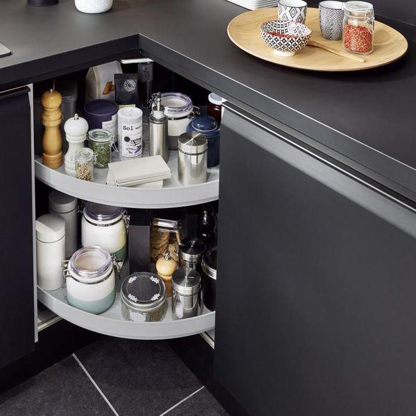 Rangement cuisine : les 40 meubles de cuisine pleins d'astuces | Rangement cuisine, Meuble ...