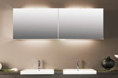 verlichting spiegelkast badkamer - Google zoeken - Badkamer ...