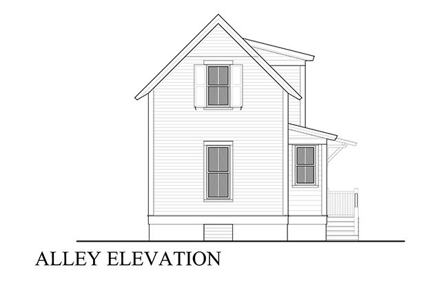 Alley elevation