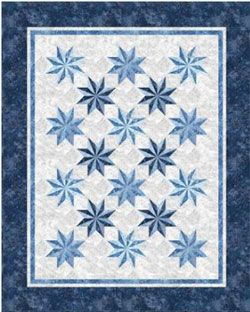 Prism Stars Quilt Pattern by Patti Carey at KayeWood.com http://www.kayewood.com/Prism-Stars-Quilt-Pattern-by-Patti-Carey-PC-PRST.htm $10.00