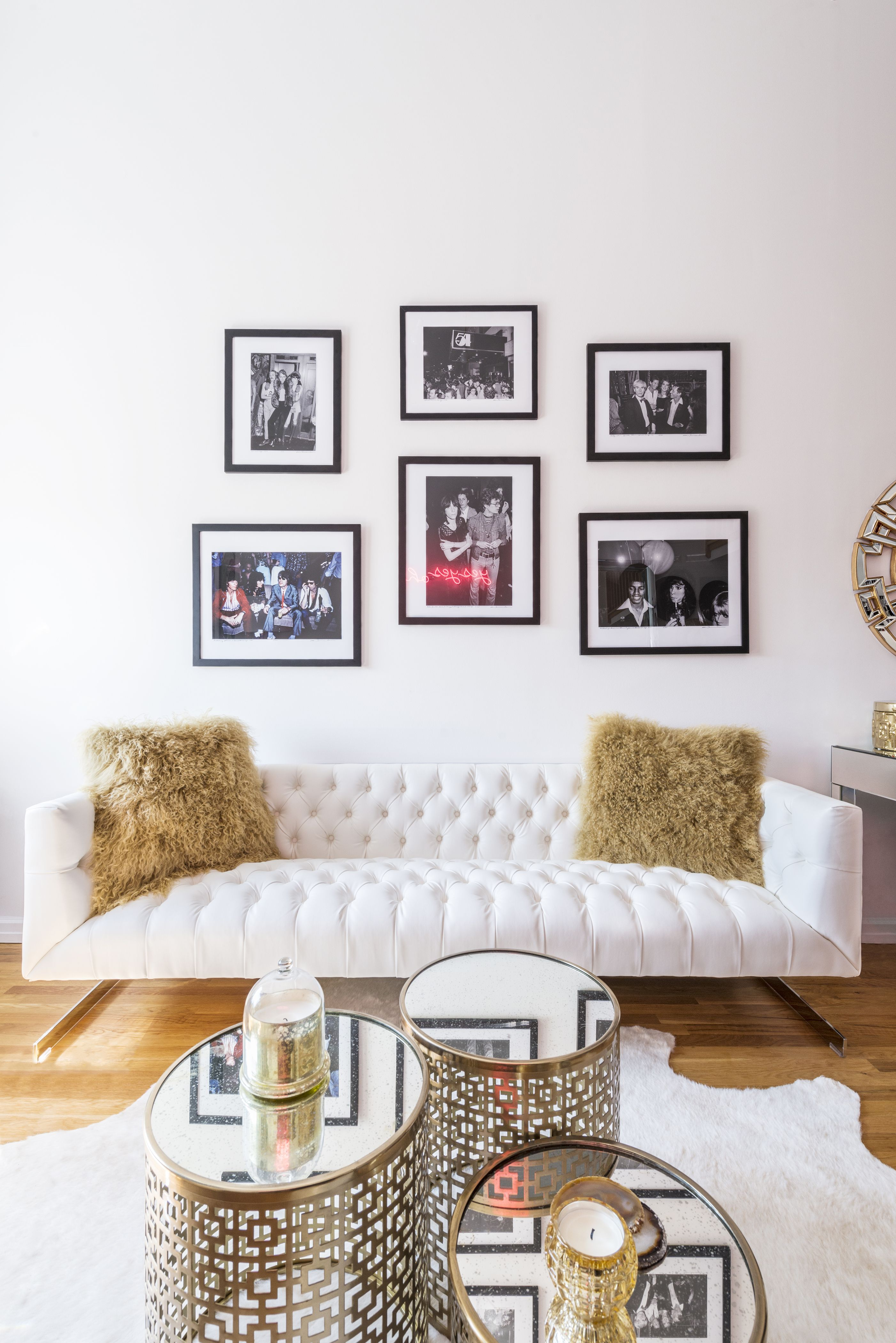 A chic @ZGallerie #SmallSpaces home makeover with NYC style ...