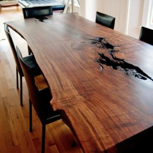 Live Edge Dining Table Walnut Slab Dining Table Slab Dining