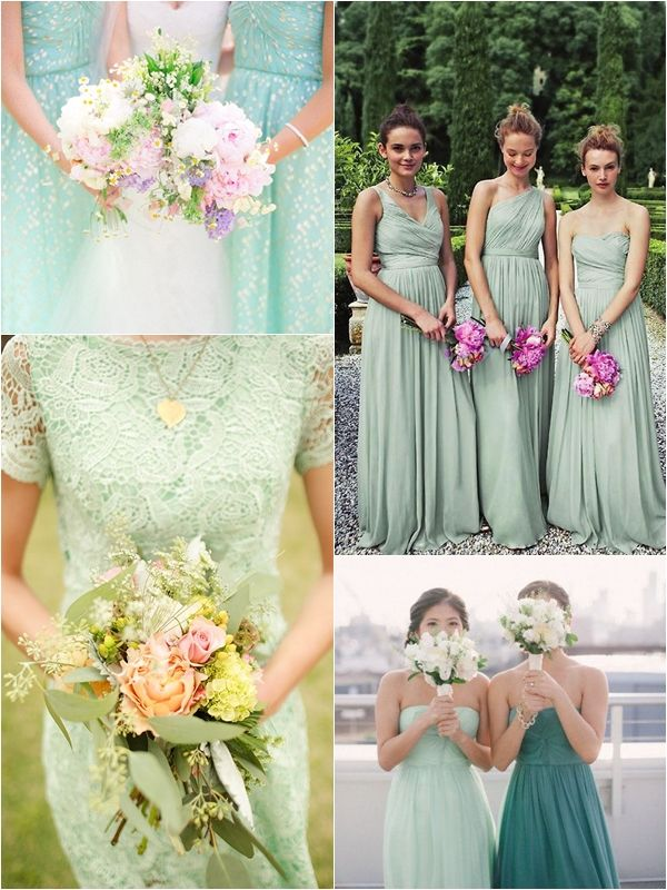 Wedding Philippines Top 10 Most Flattering Bridesmaids Dress Colors Mint