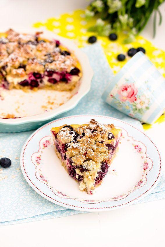 Blaubeertarte Mit Hafer Und Honigcreme Werbung Blaubeertarte Lebensmittel Essen Und Kuchen Und Torten Rezepte