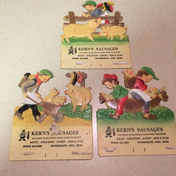 Advertising Kerns Sausages Frankenmuth Michigan by ReadingVintage