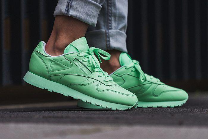 9bf47597a5ac75 Reebok Classic Leather Pastel (Mint Green) – Sneaker Freaker