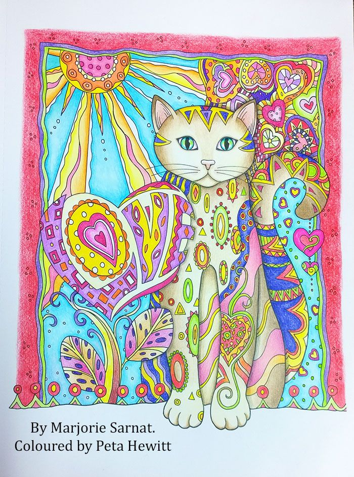 coloured pictures and a video review la artistino peta hewitt adult coloringcoloring bookscoloring