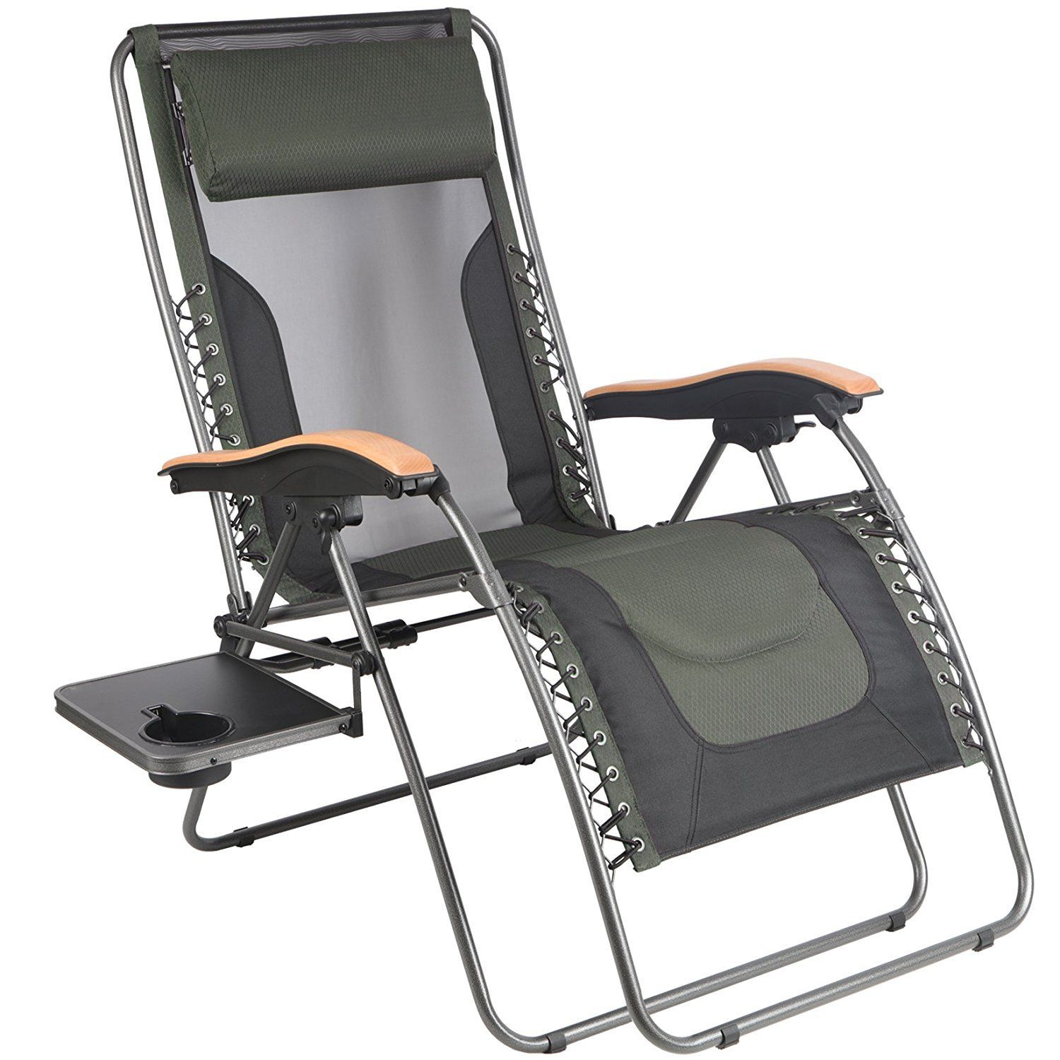 The Portal Oversized Mesh Back Zero Gravity Recliner Chair Patio Lounge Chairs Zero Gravity Recliner Patio Lounge