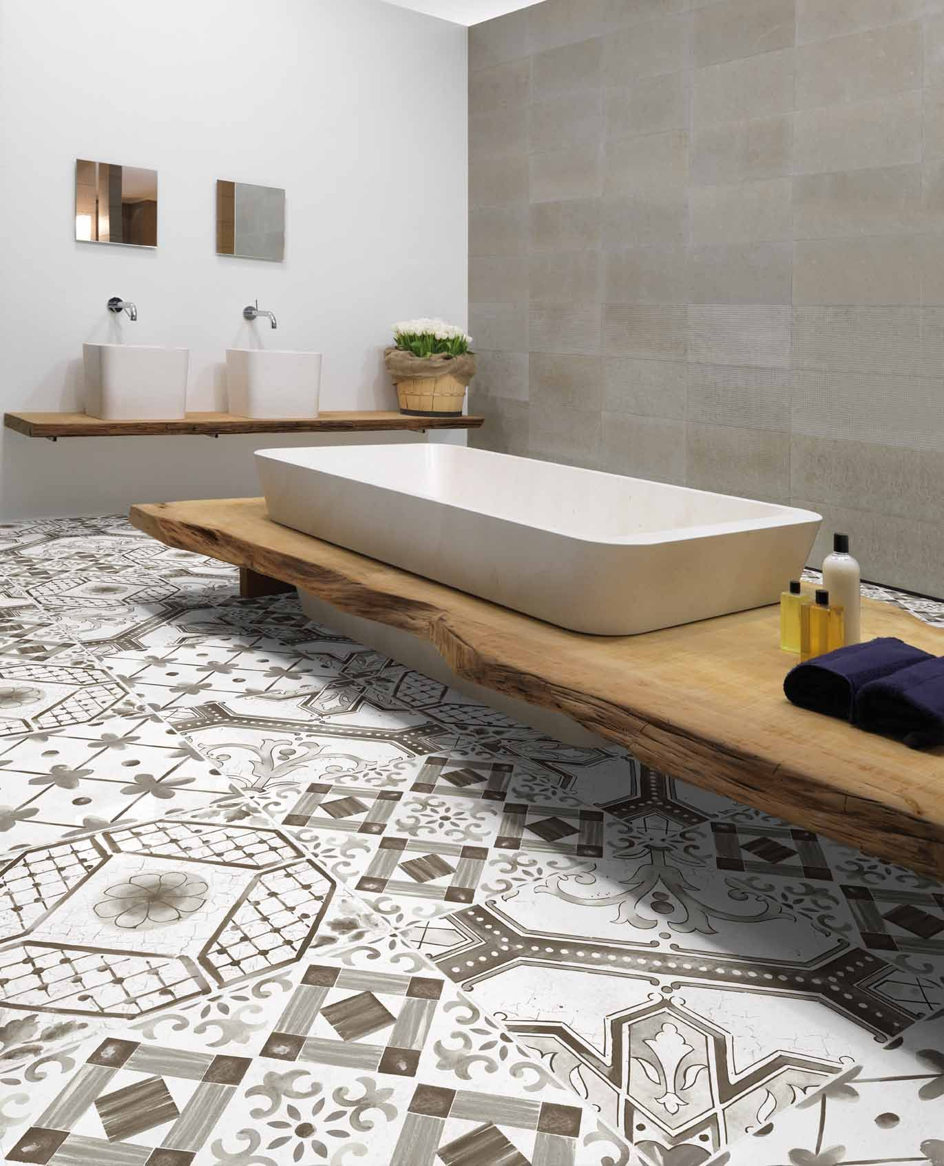 PORCELAIN STONEWARE WALL/FLOOR TILES GREY MIX MAIOLICA MIX ...