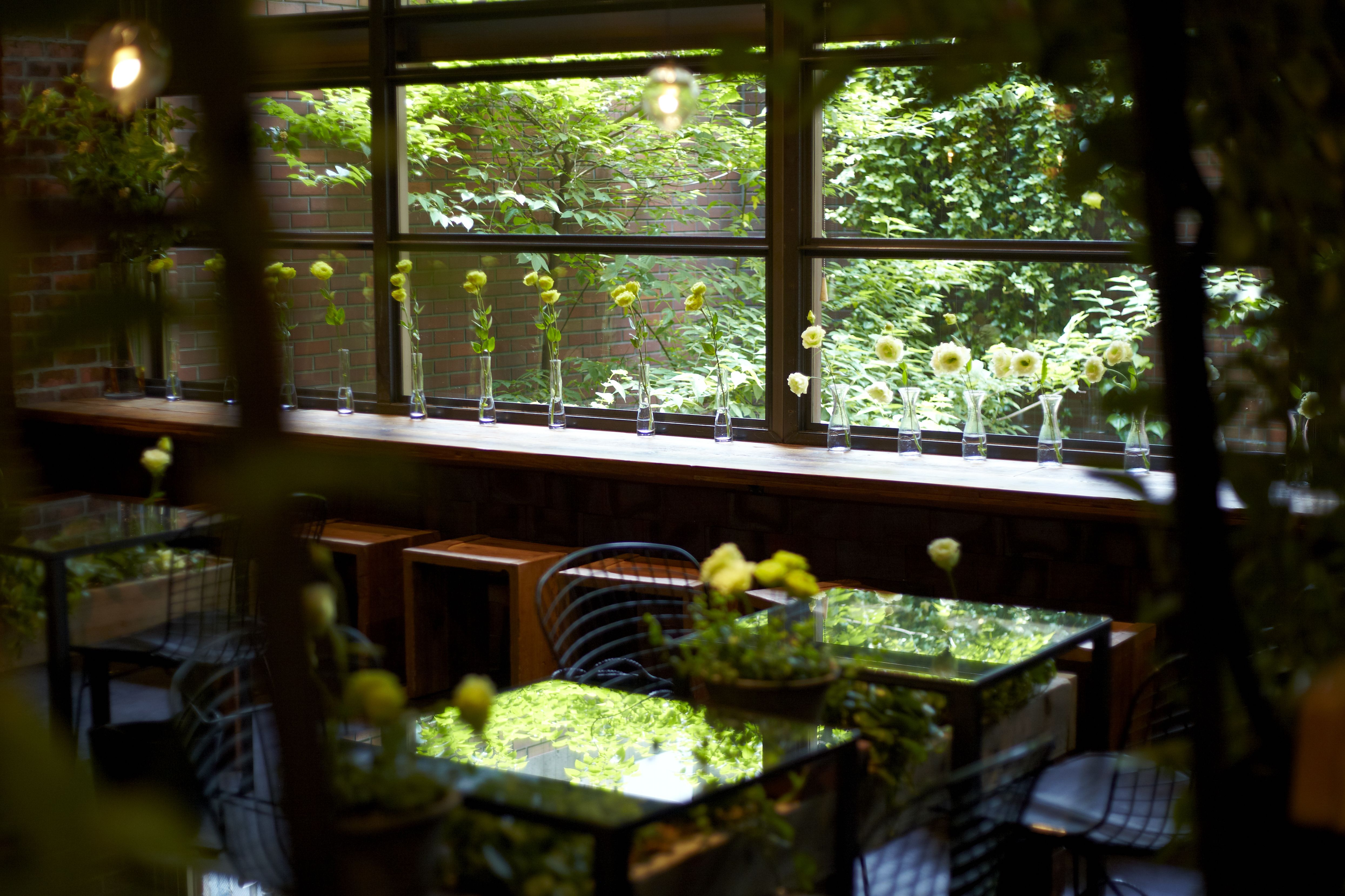 "Our works""Aoyama Flower Market TEA HOUSE"" 