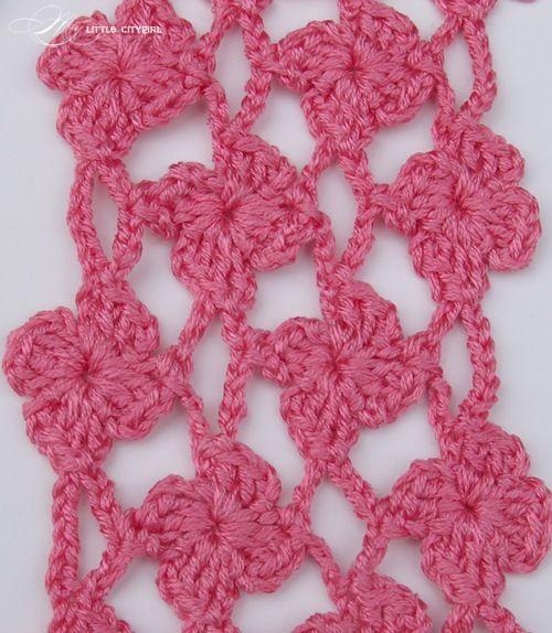 Pineapple Crochet Scarf Free Pattern For Kids Adults My Little