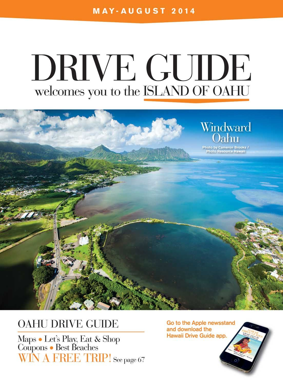 Left Page honolulu drive guide magazine Oahu, Vacation