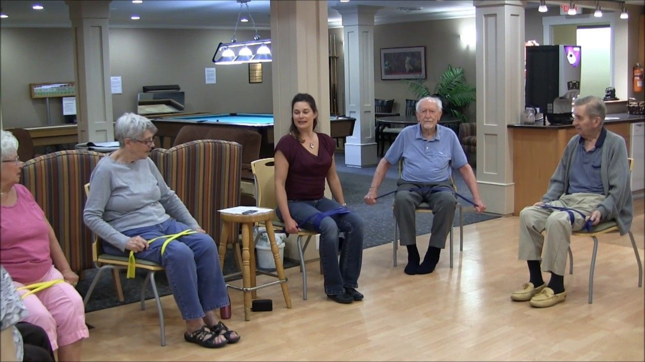 Can T Stop The Feeling In My Body Chair Yoga Dance With Sherry Zak Morris This Looks So Fun Chair Yoga Yoga Dance Exercise