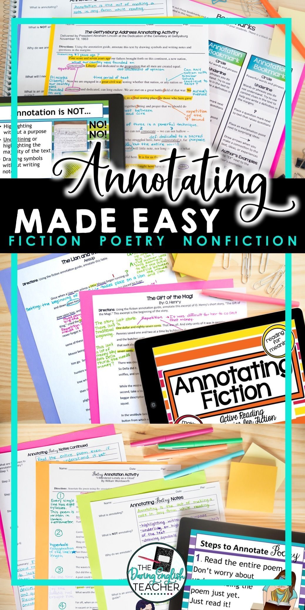 Annotating Made Easy Bundle In