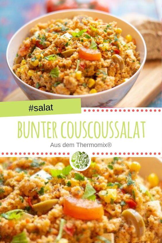 Bunter Couscoussalat aus dem Thermomix® #cookiesalad