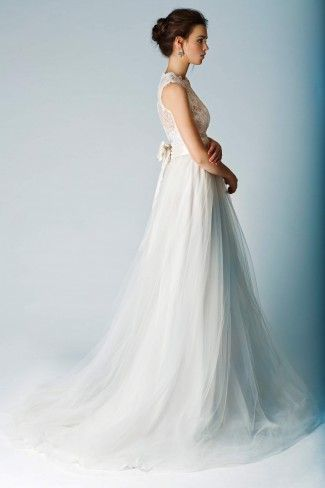 Sweet Pea Lace Bodice with Rebecca tulle Skirt | Wedding/party ...