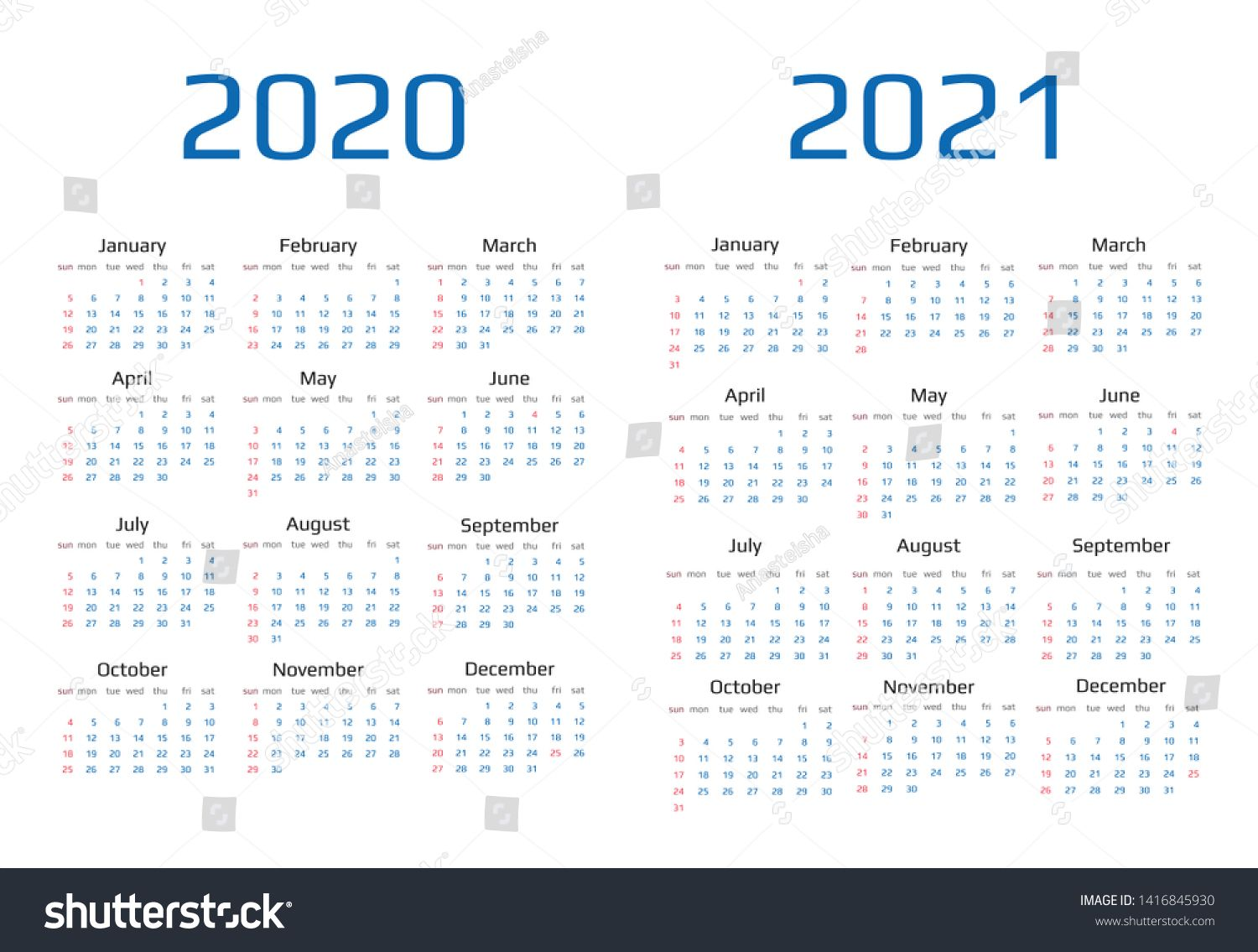 Calendar 2020 And 2021 Template 12 Months Include Holiday Event Ad Aff Template Calendar Holiday Event In 2020 Calendar 2020 Holiday Calendar Templates
