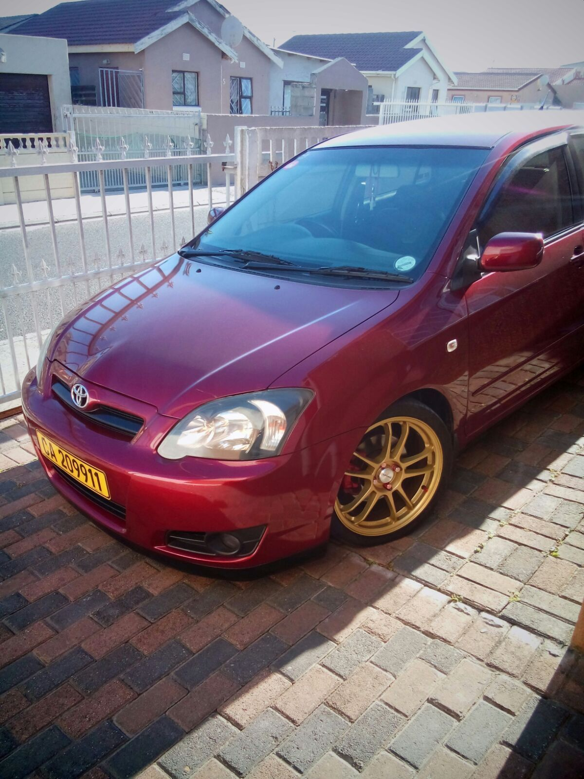 hight resolution of assie runx trd toyota corolla trd cape town