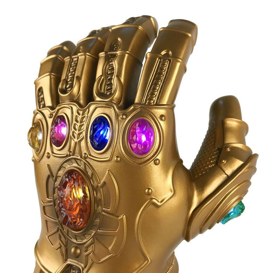 Avengers Infinity Gauntlet LED Light Thanos Gloves Cosplay Kids Adult Gift