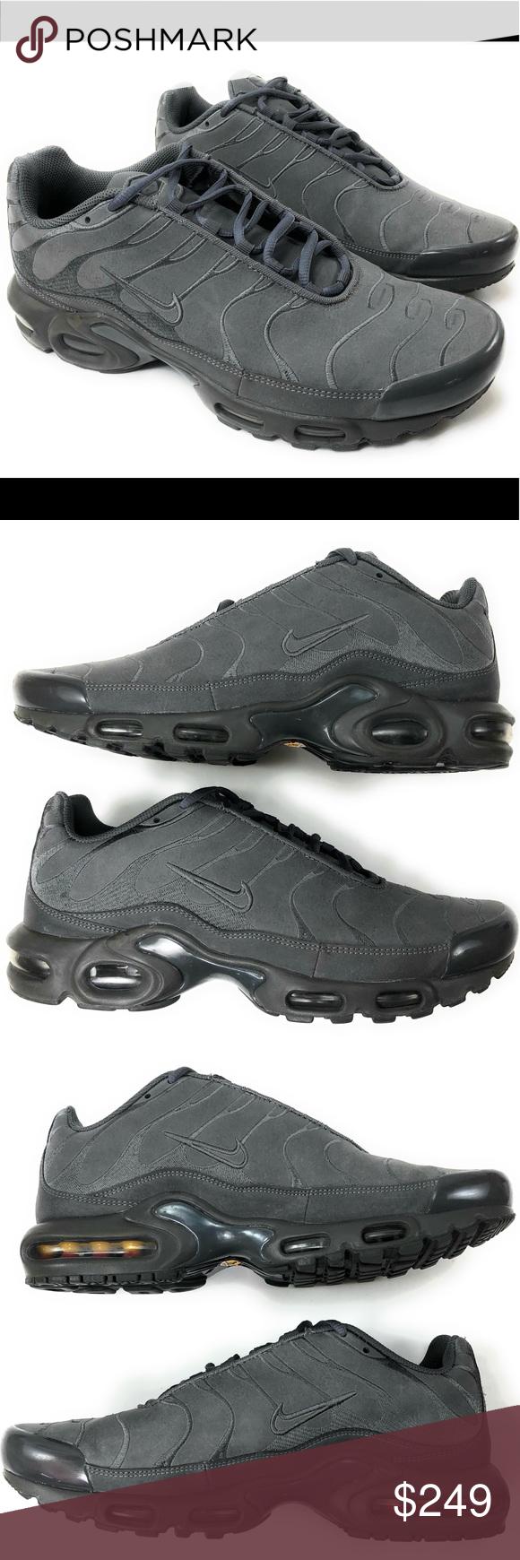 once Aturdir Helecho  Nike Air Max Plus TN 10.5 Premium Leather 558571 | Nike air max plus, Air  max plus, Nike air max