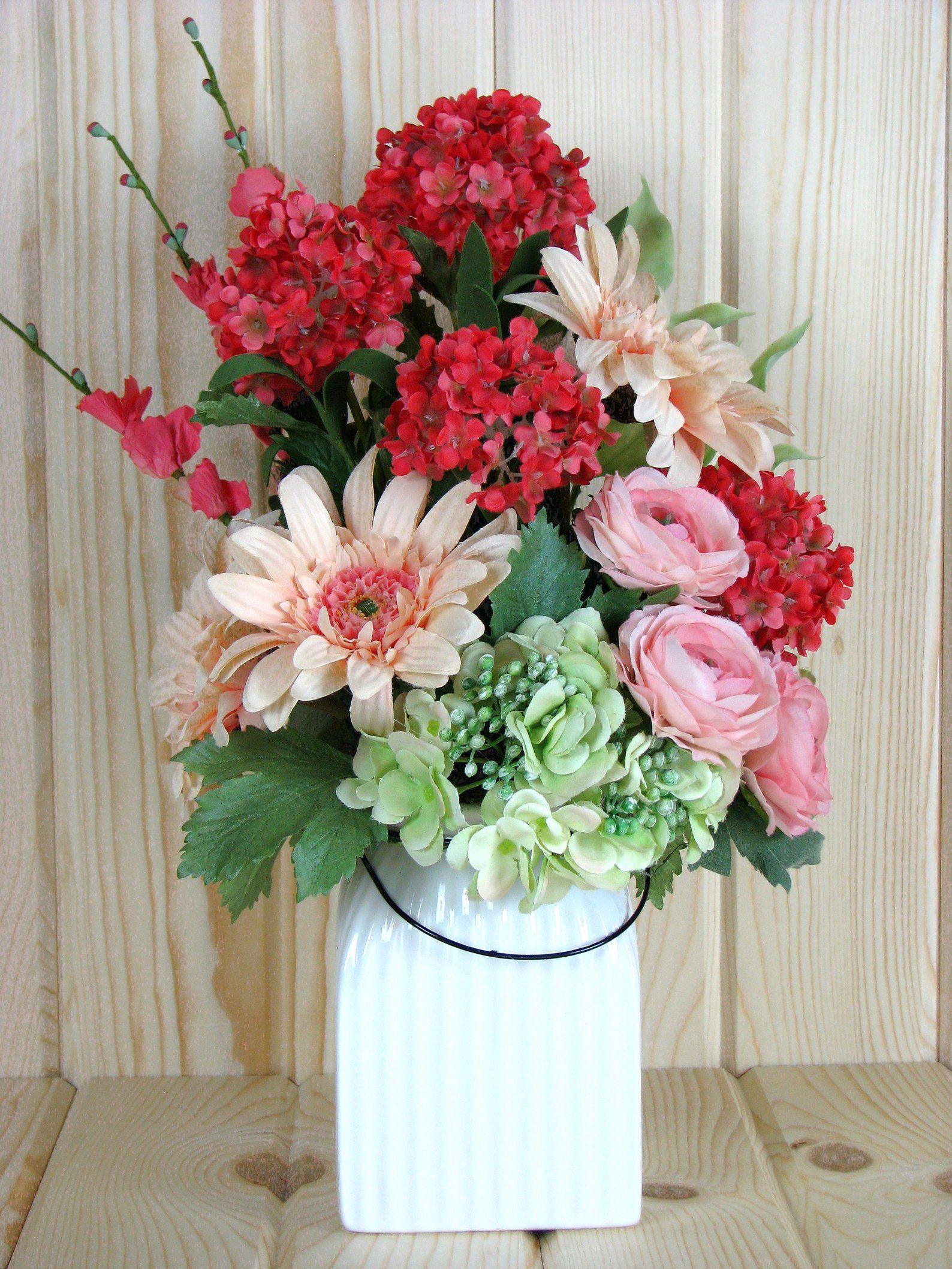 Flower arrangement gift get well gift for her permanent