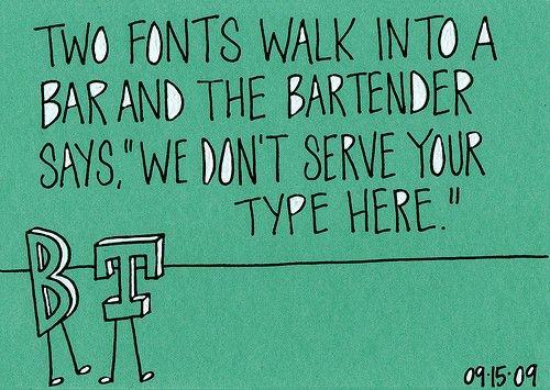 Bahahaha! #typography
