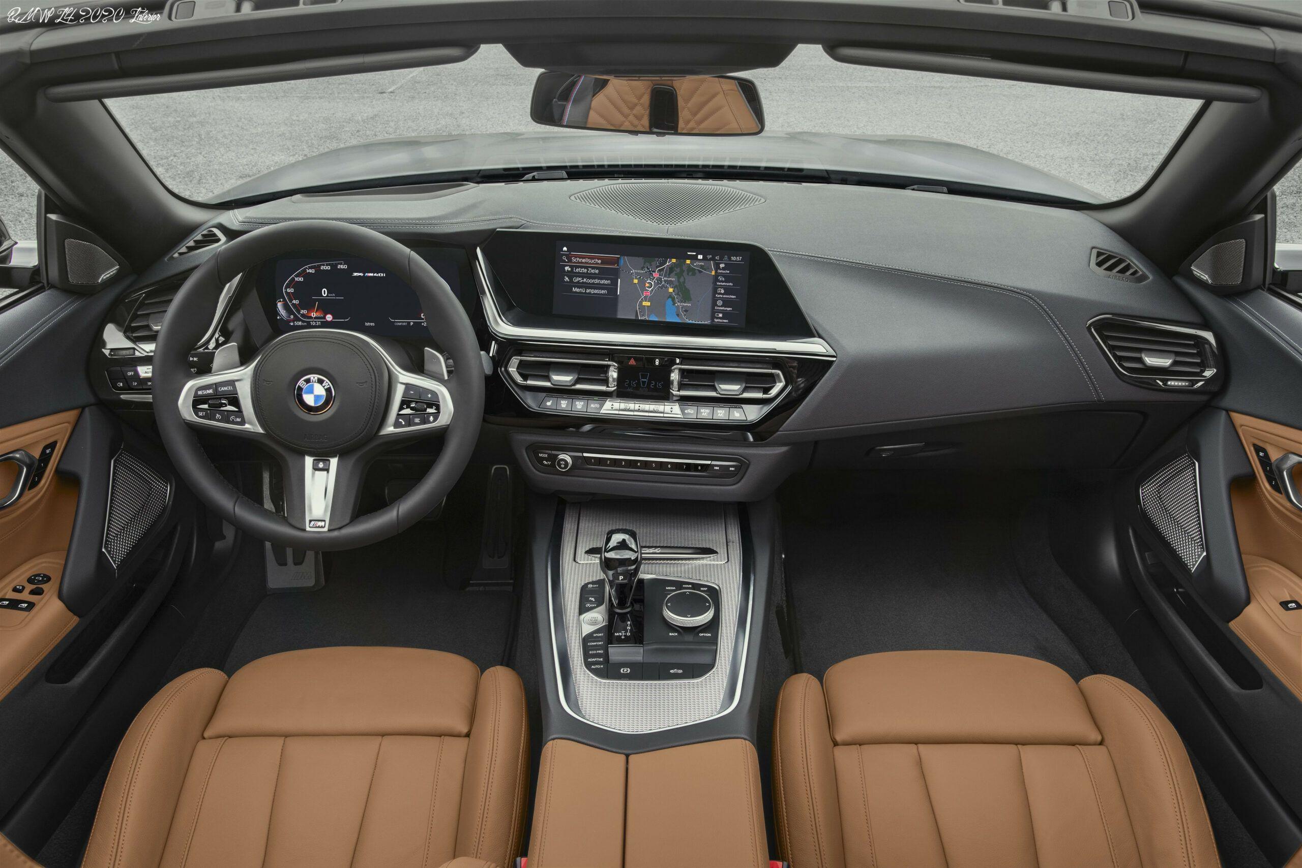 Bmw Z4 2020 Interior Spesification Em 2020 Carros
