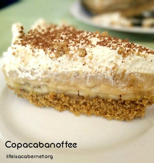 Copacabanoffee - an indulgent dessert inspired by the Barry Manilow song, Copacabana!
