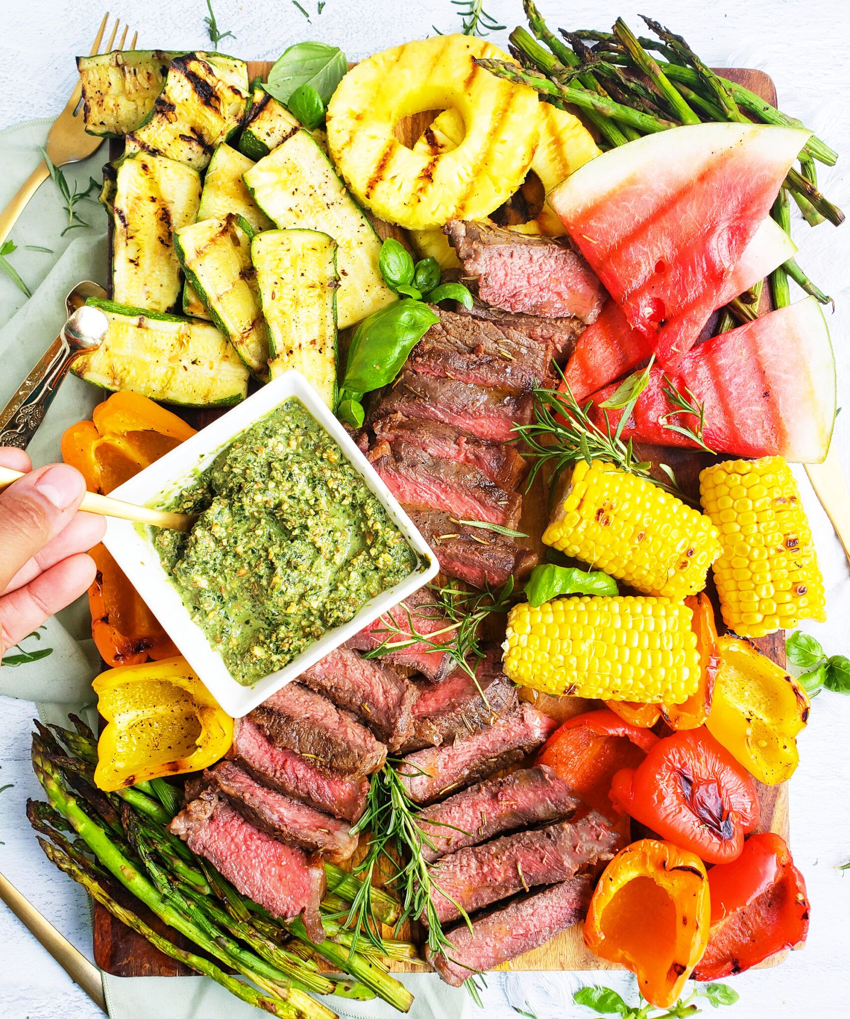 How to Build a Grilled Steak Charcuterie Board - Beautiful Eats & Things