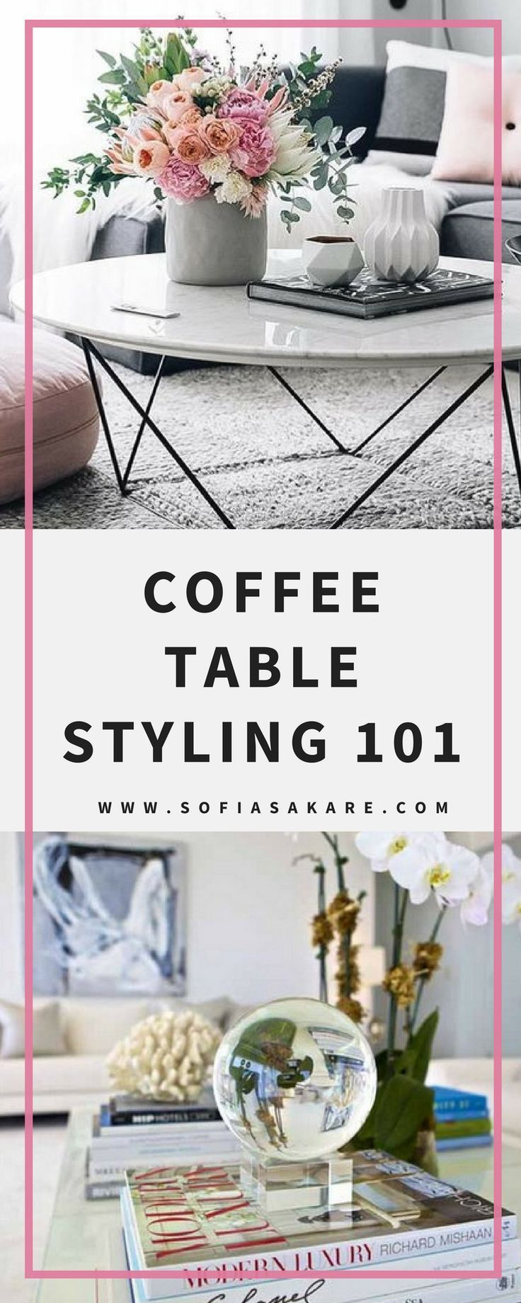 Coffee Table Styling 101: 6 Easy Steps to Coffee Table you'll Love