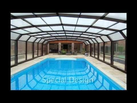 MaperGlas 5 angle CTU swimming pool enclosure from Leisure Shelters ...