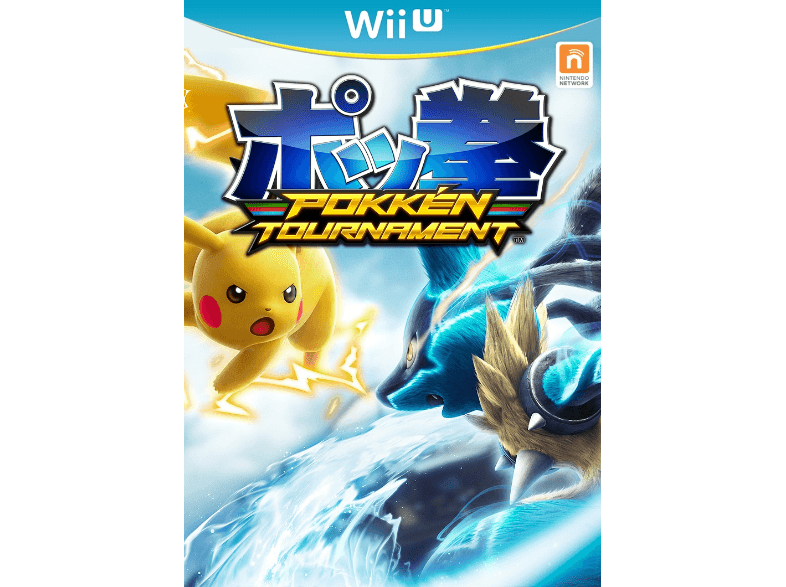 génial NINTENDO GAMES Pokkén Tournament FR WII U chez Media Markt