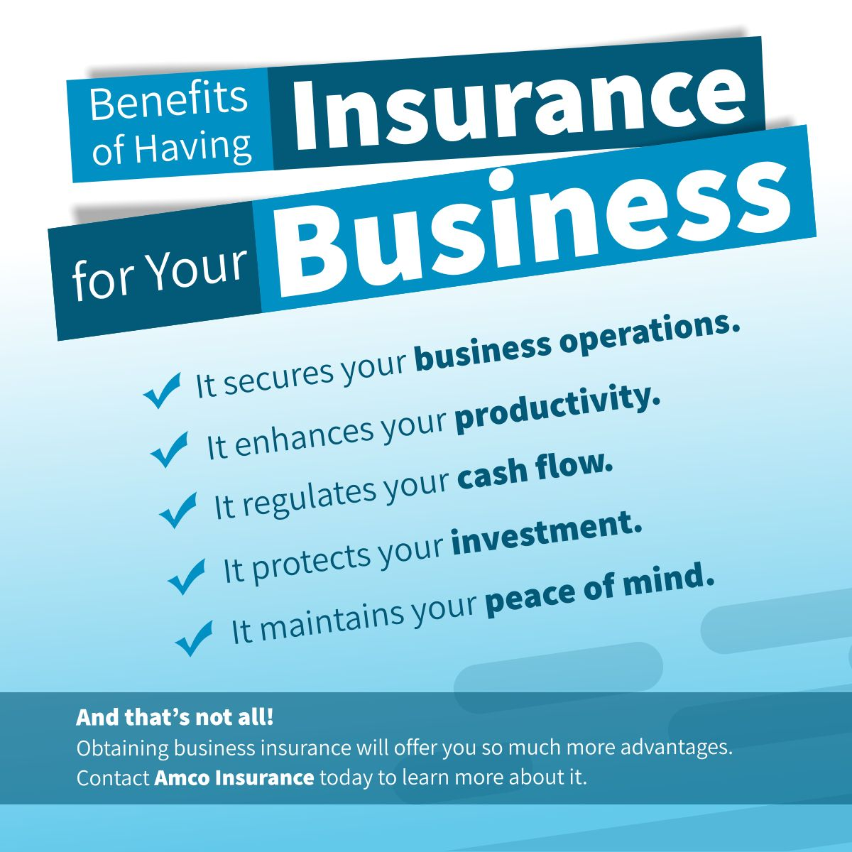Benefits Of Having Insurance For Your Business