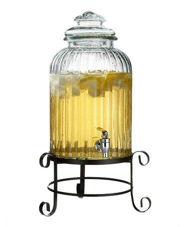 Another great find on #zulily! Springfield Beverage Dispenser & Rack #zulilyfinds